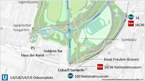 Englischer Garten Untertunnelung by Das Bayerische Nationalmuseum Kunst Und