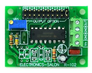 Adjustable Low Frequency Square Wave Oscillator Module
