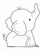 Elephant Coloring Printable Sheet Template Funny Colouring Elephants Cut Adults Inspirations Stunning Outline Adult African Pattern Niobrarachalk Drive2vote Mylifeuntethered sketch template