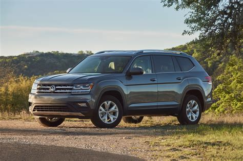 atlas volkswagen 2018 2018 volkswagen atlas suv pricing for sale edmunds