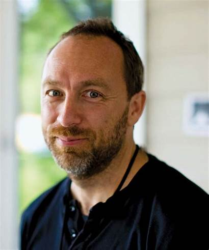 Jimmy Wales Sanger Larry Wikipedia Founder Donal