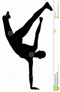 Hip hop silhouette stock illustration. Image of standing ...