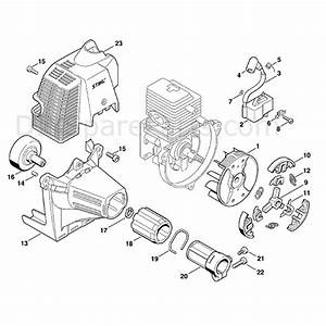 Stihl Km 85 R Engine  Km 85 R  Parts Diagram  Ignition