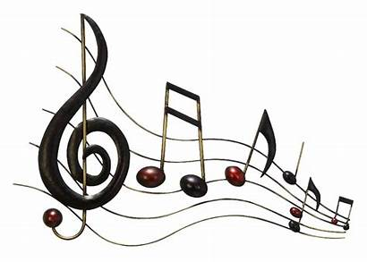 Musical Clipart Signs Sound Notes Metal Wall