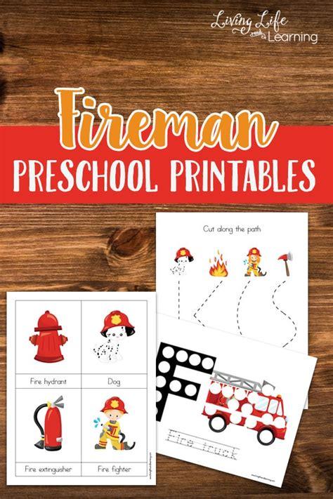 fireman activities for preschool 748 | fireman