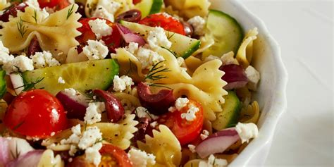 recipe for a pasta salad best greek pasta salad recipe how to make greek pasta salad
