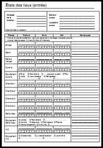 Etat des lieux modele gratuit a imprimer word et pdf for Modele etat des lieux meuble gratuit