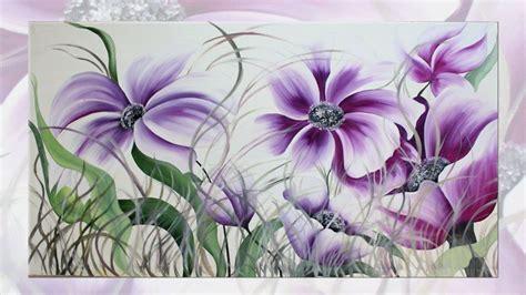 quadri di fiori astratti quadri moderni fiori faberarte