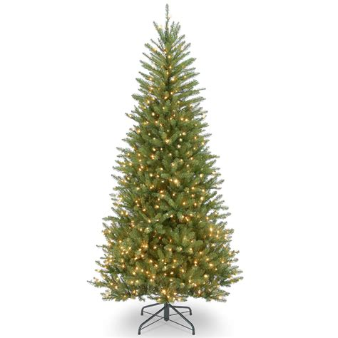 Green Pre Lit Pop Up Christmas Tree by 5 Ft Slim Christmas Trees Sears Com