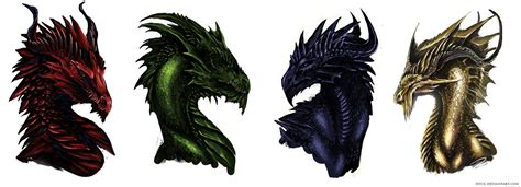 colors of dragons colorful dragons by isvoc on deviantart