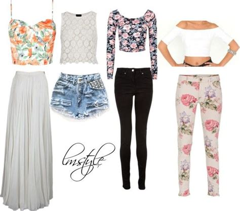 U0026quot;Requested Crop Top Outfits ~ Perrieu0026quot; by lmstyles liked on Polyvore | Polyvore | Pinterest ...