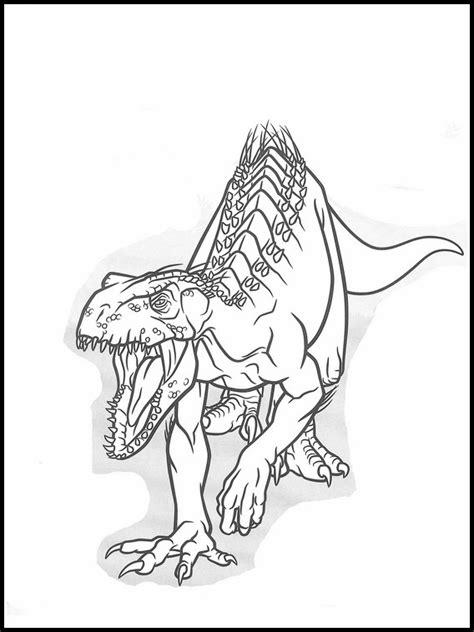 Dinosaurus Kleurplaat Jurrasic World by Jurassic World Kleurplaten Printen 35