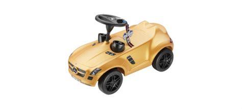 bobby car mercedes amg goldenes mercedes bobby car f 252 r den guten zweck mercedes shop bietet sls amg in gold
