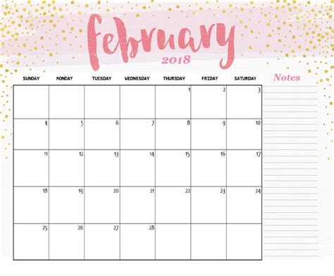 february  calendar template designs latest
