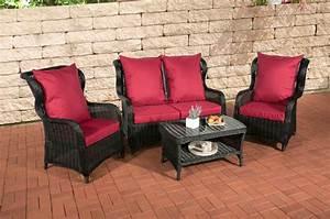 Garten Lounge Set Günstig : clp poly rattan garten lounge set toledo 5 mm rund geflecht alu gestell 2 sessel 2er sofa ~ Watch28wear.com Haus und Dekorationen