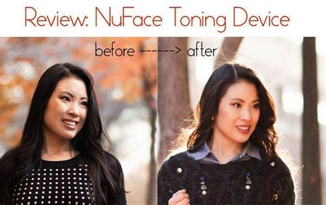 Review: NuFace Facial Toning Device - cute & little