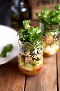 Honig Senf Sauce Salat : honig senf salat im glas honey mustard salad in a jar ~ Watch28wear.com Haus und Dekorationen