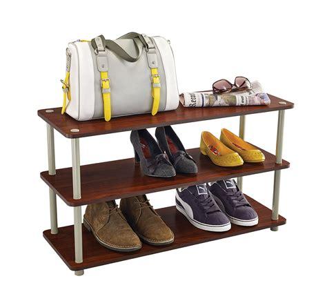 Closetmaid Shoe Rack - closetmaid 3 tier shoe organizer ebay