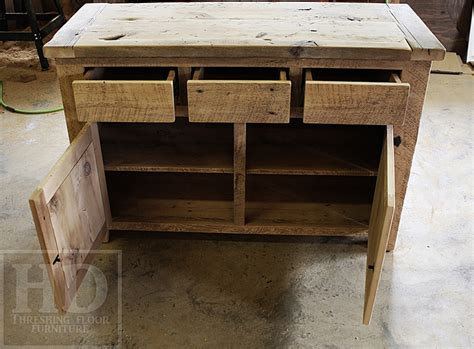 Reclaimed Wood Buffet In Oakville, Ontario With Epoxy/matte Polyurethane Finish Cabinet Drawer Pulls Placement Internal Wardrobe Drawers Jewelry Storage Best Organizer Dryer Sheets In Kitchenaid Double Dishwasher The Top York Pa Vertical