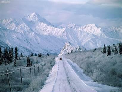 Alaska Screen Nature Wallpapersafari Plowing Nr Way