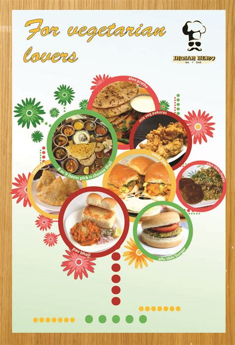 poster cuisine professional modern restaurant poster design for india