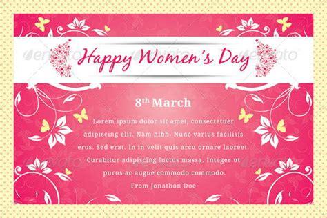 womens day greeting card templates  premium