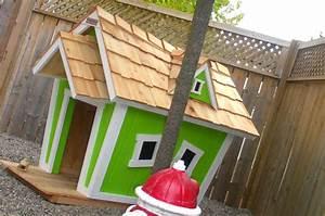 Cabane Pour Chien : cabane en bois pour chien jardin piscine et cabane ~ Melissatoandfro.com Idées de Décoration
