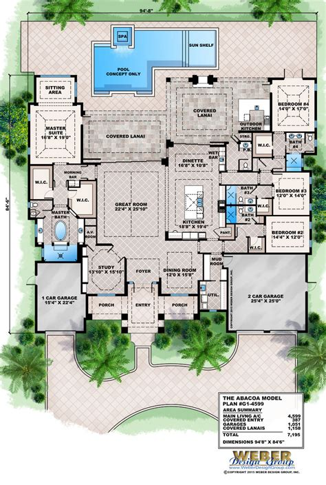 home blue prints florida house plans modern stock florida home