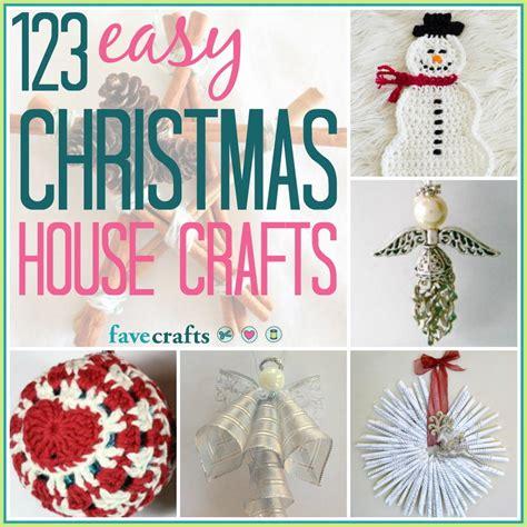 123 Easy Christmas House Crafts Favecraftscom
