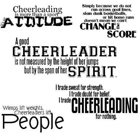 cheerleading quotes graphics and comments