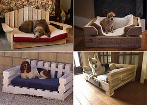 DIY Dog Bed Using Wooden Pallets - Find Fun Art Projects