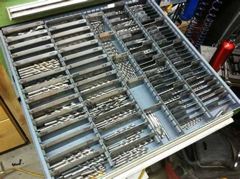 milling bit drawer storage       drill