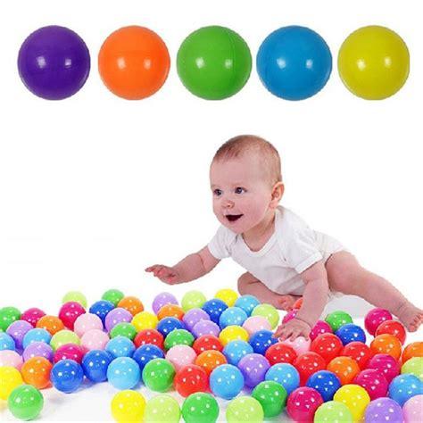 Bērnu Spēļu Komplekts no 200 Bumbām Bumbiņām Baseiniem ...