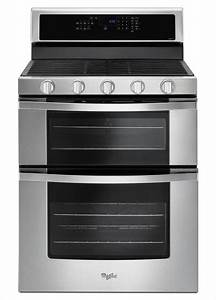 Whirlpool 6 0 Cu  Ft  Double Oven Gas Range With Center