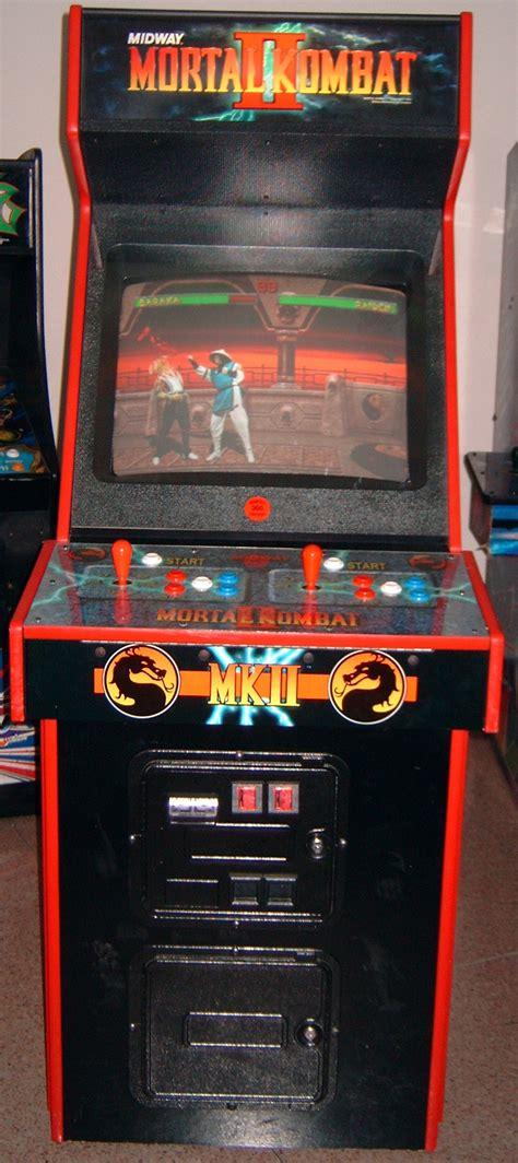 image gallery mortal kombat 2 arcade machine