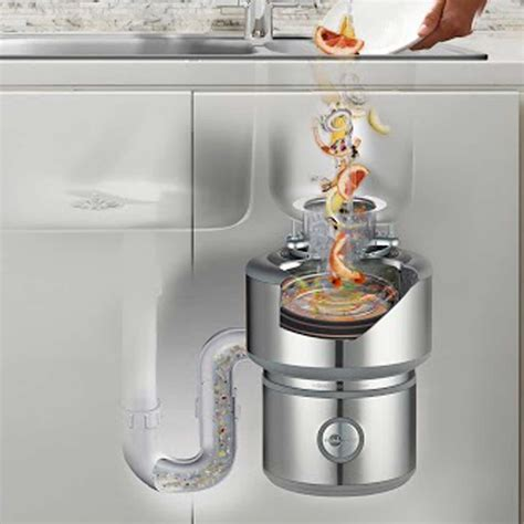 kitchen sink trash disposal insinkerator evolution 200 waste disposal unit kitchen 5996