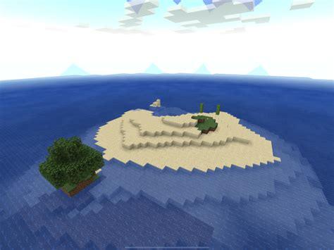 original survival island series map minecraft pe maps