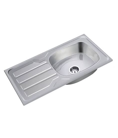 kitchen sinks with drain boards buy ss sink stainless steel kitchen sink with drain board 8599