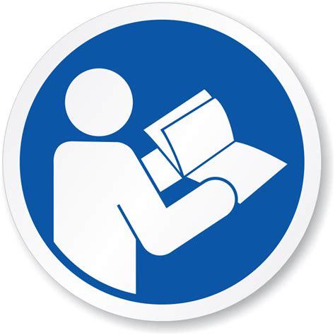 lg water read operators manual symbol iso mandatory sign sku is