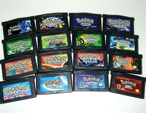 Gameboy Advance Sp Games Pokemon Game Boy Advance