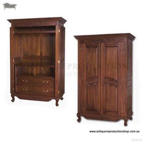 Bedroom Tv Cabinet by Tv Cabinet Armoire Wardrobe For Bedroom Antique