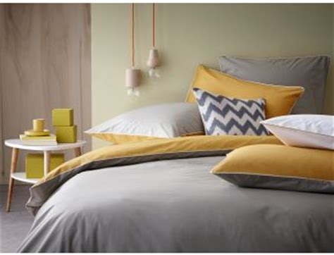 toto linge de maison linge de lit taupe safran parure de lit linge de maison housse de couette percale de