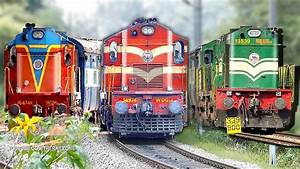 Music Of The Chugging Diesel Engines  Alco U0026 39 S    Indian