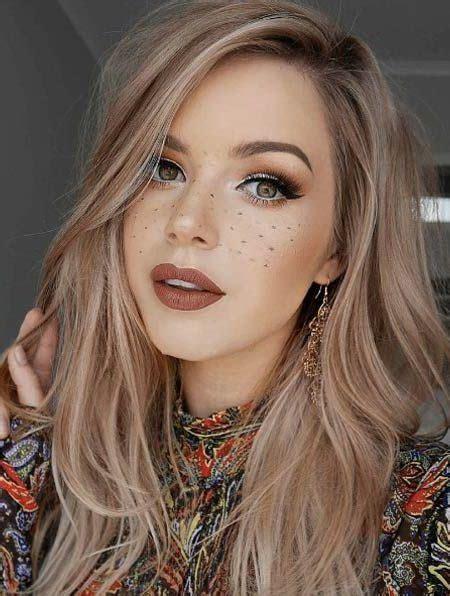 Schicke Dunkel Blonde Haarfarbe Ideen Trend Frisuren Stil