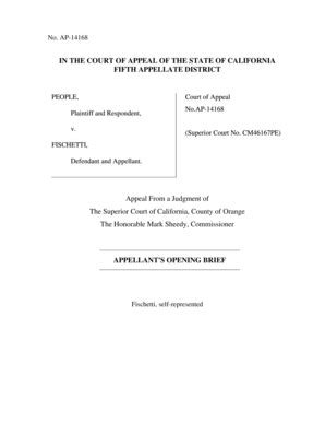appellate brief template e manual sle forms and templates fillable printable sles for pdf word pdffiller