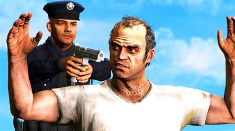 Arresting Trevor Philips! Gta 5 Cop Mod (gta 5 Lspdfr
