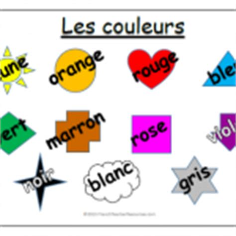 French Colours ResourcesFrench Teacher Resources