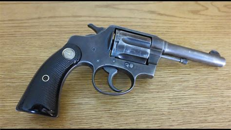 Colt Police Positive Special Revolver In .38 Special