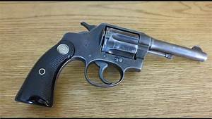 Colt Police Positive Special Revolver In  38 Special