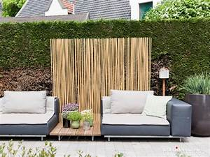 Bambus Sichtschutz Fr Balkon Bro Und Terrasse Auf